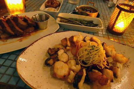 Dinner at Catch, Playa Del Carmen