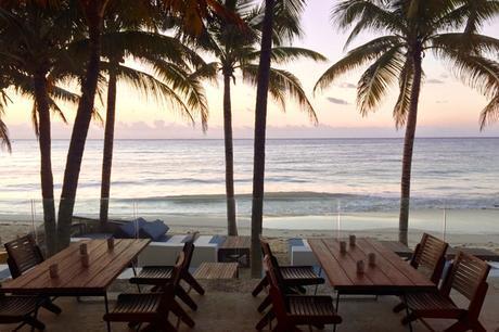 Sunset in Playa Del Carmen