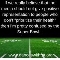 Super Bowl LI, Fat People, and Hypocrisy