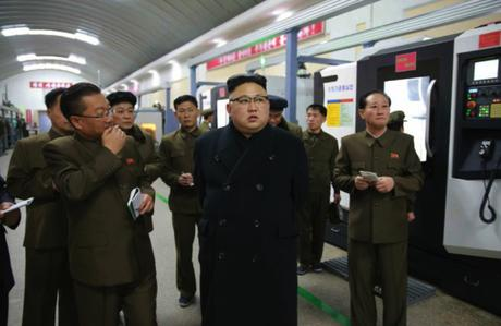 Kim Jong Un Visits Kangdong Precision Machine Plant