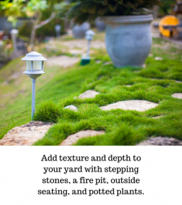 Texture to your yard