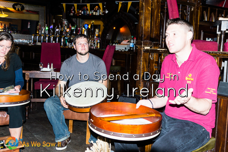 One activity for a day in Kilkenny Ireland is learning to play the bodhran, a drum