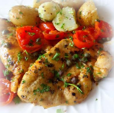 Chicken with Tomatoes and Capers - Paperblog