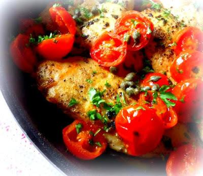Chicken with Tomatoes and Capers