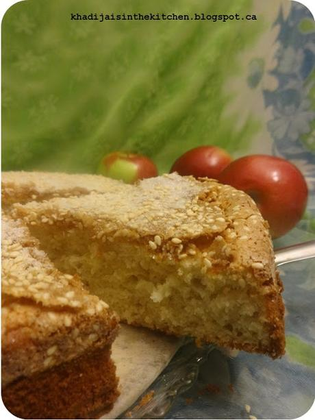 GÂTEAU AU POMMES / APPLE CAKE / BIZCOCHO DE MANZANA / كيك بالتفاح
