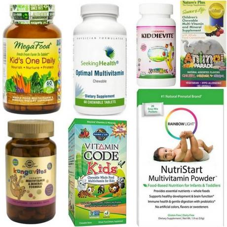 The Healthiest Children's Vitamins: 2017