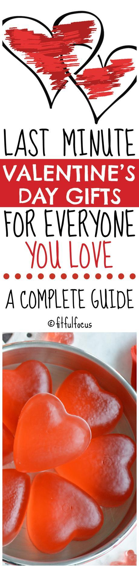Last Minute Valentine's Day Gifts For Everyone You Love