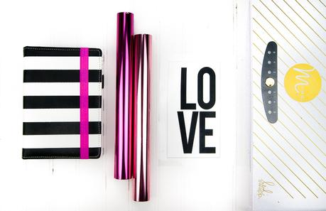 Valentine's Day Printable Planner Dashboard | Heidi Swapp