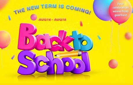The Blockbuster Back To School Sale by Gearbest