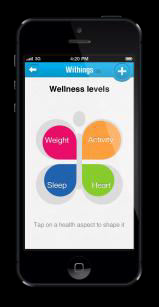 Withings Health Mate Application