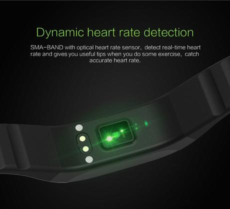 SMA-Band Heart Rate Detection
