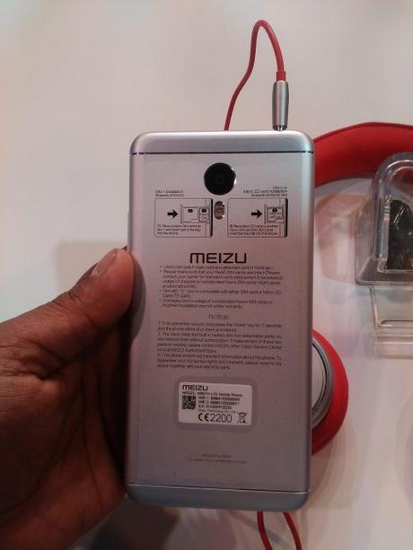 Meizu M3 Note Back