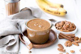 Banana Bread Pecan Almond Butter (Vegan, Paleo + Whole30)