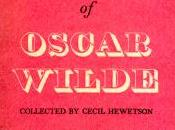 Wisdom Oscar Wilde Collected Cecil Hewetson
