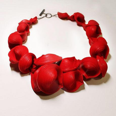 Rolled Paper Necklace - Youngjoo Lee