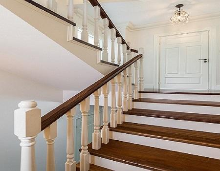 Get Beautiful Ideas of Timber Handrails for Stairs