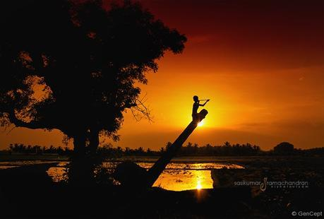 Image result for silence silhouette