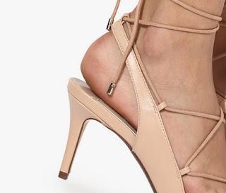 Dorothy PerkinsDarcy Pink Tie Up Stilettos - Heels
