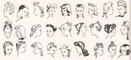 coiffures.