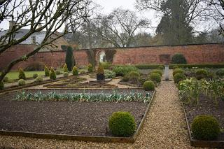 Snowdrops and aconites at Little Ponton Hall