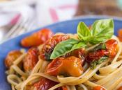 Super Quick Easy Roasted Cherry Tomato Pasta Sauce