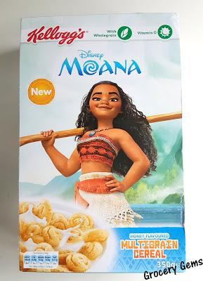 Review: Kellogg's Disney Moana Cereal