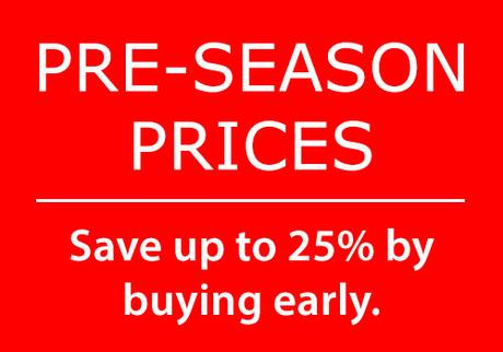 Fantastic Reviews and Final Notice on New Season Prices