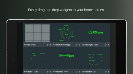 PipTec Green Icons & Live Wall- screenshot