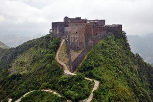 Citadelle LaFerrière, the largest fortress in the western hemisphere (photo from Wikimedia)