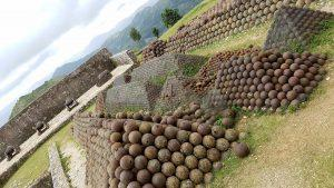 At its peak, the fort was provisioned with 50,000 cannonballs