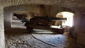The Gallery of Cannons houses some of the finest guns of the 18th century found anywhere in the world