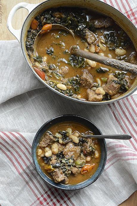 Artisan beef kale bean stew paperblog for Artisan cuisine of india