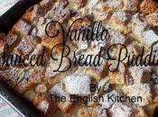 Vanilla Sauced Bread Pudding