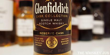 Glenfiddich Reserve Cask Label