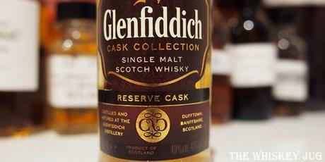 Glenfiddich Reserve Cask Label