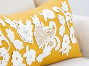 Lace Applique Pillow