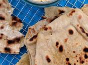 Quick Easy Garlic Chilli Flatbreads