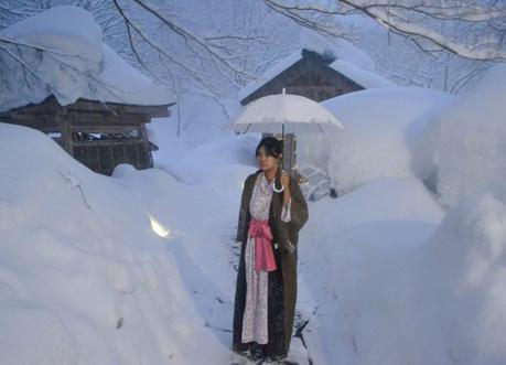 Fanfan Wilson, Osenkaku Ryokan Takaragawa Onsen in Winter Snow