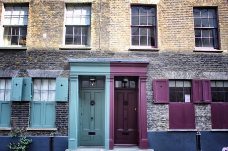 #London Nightly #Photoblog 21:02:17: Colourful #Spitalfields Doors