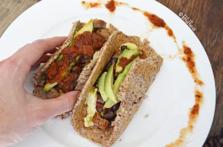 Allergy-Friendly Breakfast Tacos (wheat & corn free tortillas)