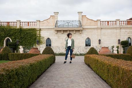 Casual Glam with Banana Republic at Del Dotto Winery