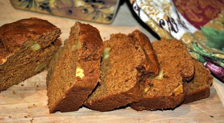Sweet Potato and Apple Quick Bread