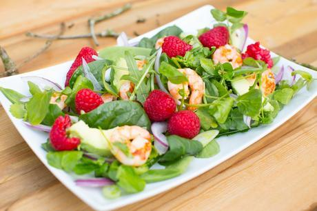 Fitness On Toast Faya Blog Girl Healthy Workout Meal Post Training Dish Tasty Idea Food Cook Recipes Healthy Diet Lean Protein Prawn Fresh Berries Raspberries Berry World Make Food-4
