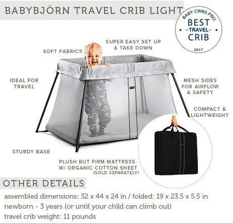 Babyjorn best travel crib