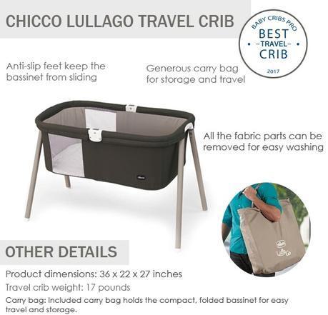 Chicco lullago best travel crib