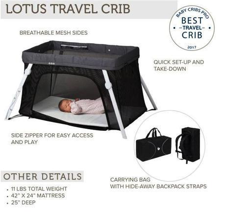 Lotus best travel crib