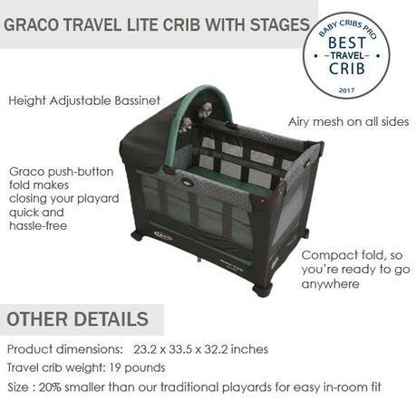 Graco best travel lite crib