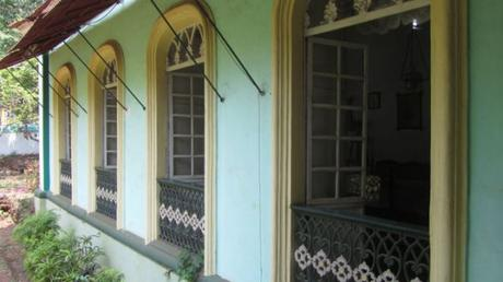 A Portuguese house in Goa, India.