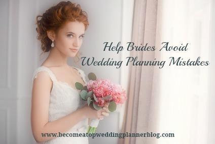 Wedding Planners Help Brides Avoid Wedding Planning Mistakes