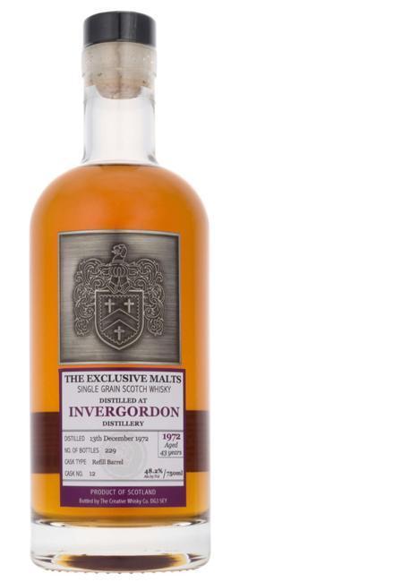 Whisky Review – The Exclusive Malts Invergordon 1972 43 YO
